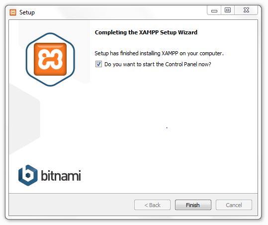 XAMPP Installation - Complete Installation