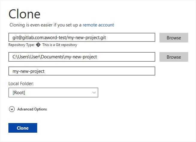 Access GitLab via SourceTree