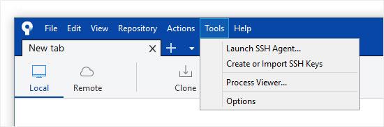 Create or Import SSH Key